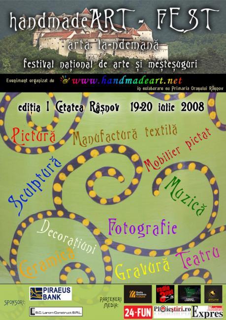 HandmadeArt-fest - festival national de arte si mestesuguri