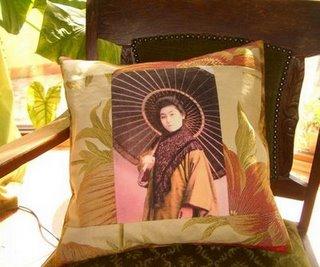 Perna decorativa quilt