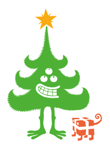 Sticker Christmas Tree